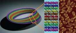 DNA art imitates life: Construction of a nanoscale Mobius strip