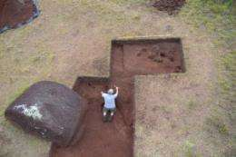 Easter Island study enters new phase