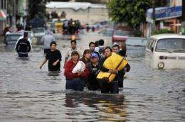 El Nino was blamed for killer floods in Mexico in February