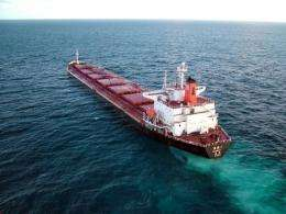 Emergency workers successfully moved the Shen Neng 1 coal carrier without adding to the two-tonne oil spill