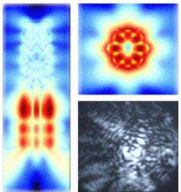 Engineers grow nanolasers on silicon, pave way for on-chip photonics