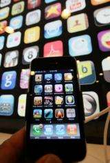 English-language Tigertext applications for iPhones became available through Apple's online iTunes shop Thursday