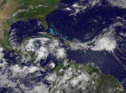 Expecting Tropical Depression Alex in the Caribbean