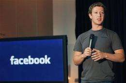 Facebook checks in, adding location-based feature (AP)