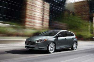 Ford unveils its first all-electric car