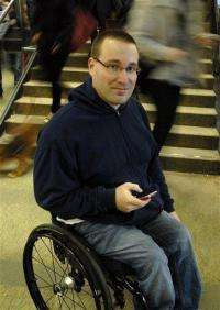 German iPhone app guides handicapped around cities (AP)
