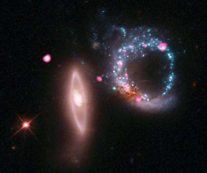 Giant ring of black holes
