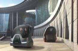 GM Unveils EN-V Concept: A Vision for Future Urban Mobility