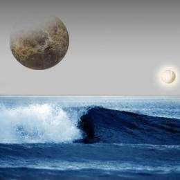 Growing Earth's oceans