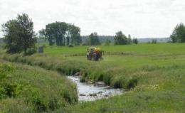 How grass buffers keep agricultural herbicides at bay