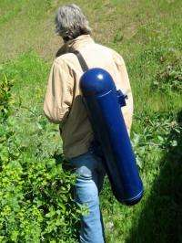 Hydroelectric backpack
