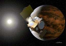 Japan probe overshoots Venus, heads toward sun (AP)