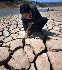 Meteorological officials have said the drought is the worst in 100 years in some areas