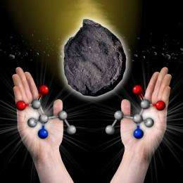 More asteroids could have made life's ingredients