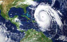 More tropical cyclones in past could play role in warmer future