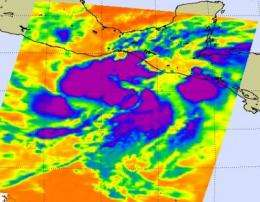 NASA eyes low in eastern Pacific for tropical development