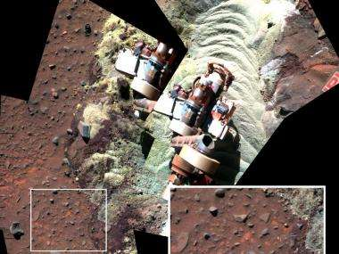 NASA trapped mars rover finds evidence of subsurface water