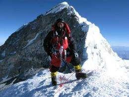 Nepalese climber Apa Sherpa