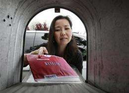 Netflix expects video streaming to drown out DVDs (AP)