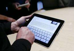 New issues will be automatically delivered to a subscriber's iPad every morning