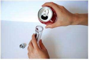 Modified Mobile Phone Runs on Coca-Cola