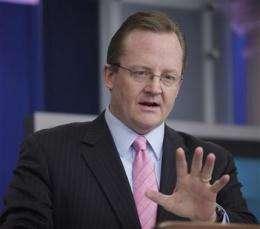 Now Tweeting: White House press secretary Gibbs (AP)