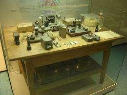 Nuclear Fission Experimental Apparatus 1938