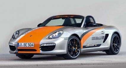 Porsche begins testing electric Boxster E