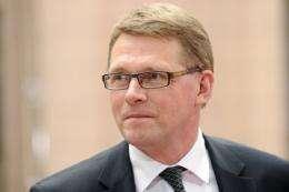 Prime Minister Matti Vanhanen