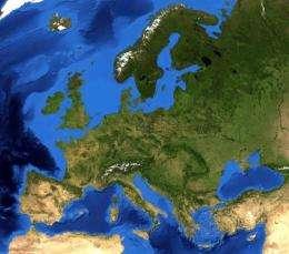 Rainy Spells Extended For Europe