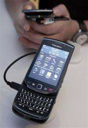 RIM announces new BlackBerry for AT&T (AP)