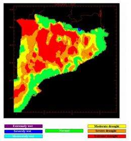 Risk of drought in Northeastern Spain is exaggerated by the press