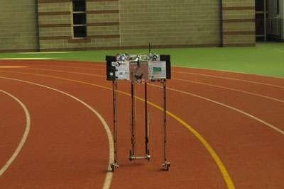 Robot Ranger sets 'walking' record at 14.3 miles