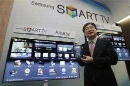 Samsung sees big jump in 3-D TV sales in 2011 (AP)