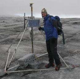 Scientists pioneer wireless sensors to explore little known glacier phenomenon