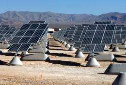 Self-cleaning technology from Mars can keep terrestrial solar panels dust free