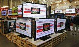 Sharp holiday price drops seen for flat-panel TVs (AP)