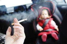 Shock findings in Scotland's first smoking in cars study