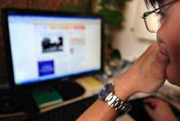 Sites blocked by China's vast Internet censorship system include Twitter, Facebook and YouTube