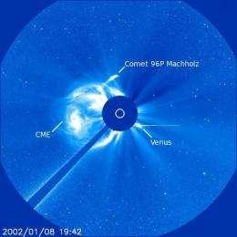 SOHO spots 2,000th comet
