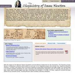 Team reveals secret life of Isaac Newton on new website