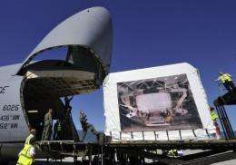 The AMS detector is due to reach the space station on the last US Space Shuttle mission towards the end of February 2011
