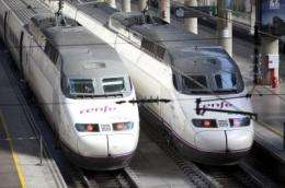 The AVE pollutes 29 percent less than traditional trains