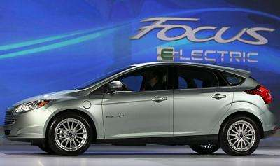 The brand new all-electric Ford Focus