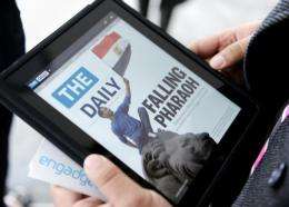 The digital publication Tha Daily is News Corp CEO Rupert Murdoch's latest try to to charge readers for online content