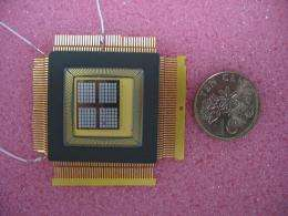 MEMS device generates power from body heat