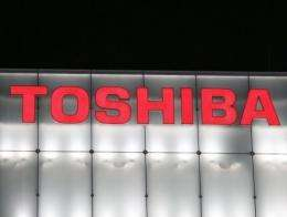 Toshiba incurred a group net loss of 19.74 billion yen (215 million dollars) in the year ended in March