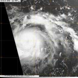 Tropical Storm Conson forms in northwestern Pacific