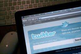 Twitter said last month that it has topped 105 million registered users