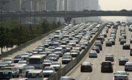 Vehicles on the Beijing-Tibet expressway slowed to a crawl on August 14 and haven't speeded up since